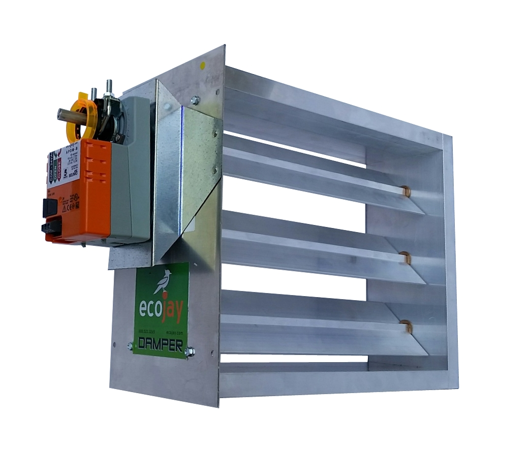 Heavy-Duty - Rectangle Damper
