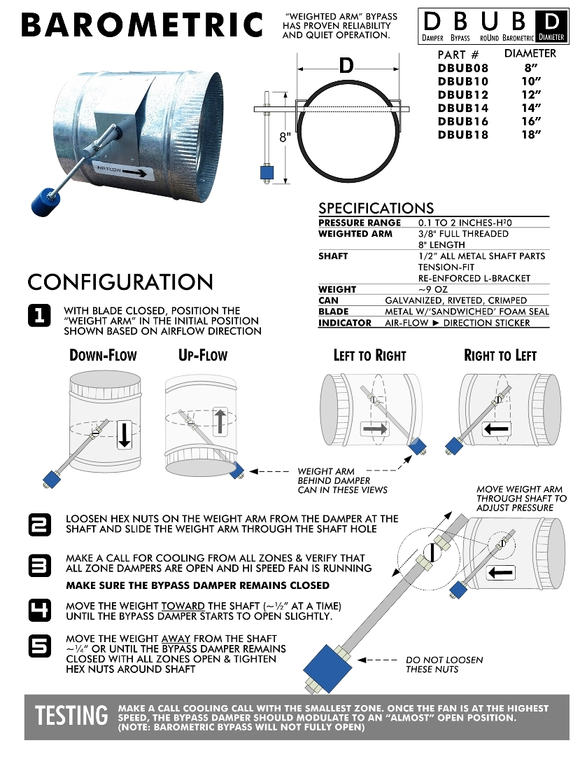 Ecojay Barometric Bypass Install & Setup Guide