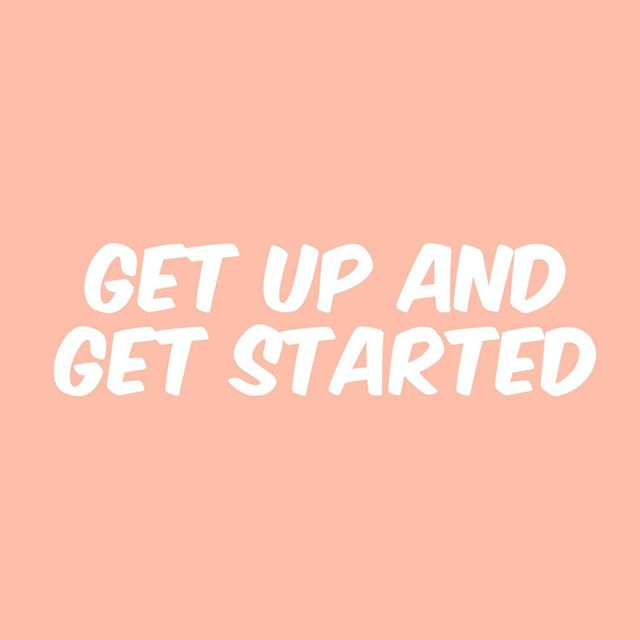 Good morning! Today try not to over think your next steps just jump into action. Over thinking can paralyze you and cause you to not do anything.  #motivation #action #love