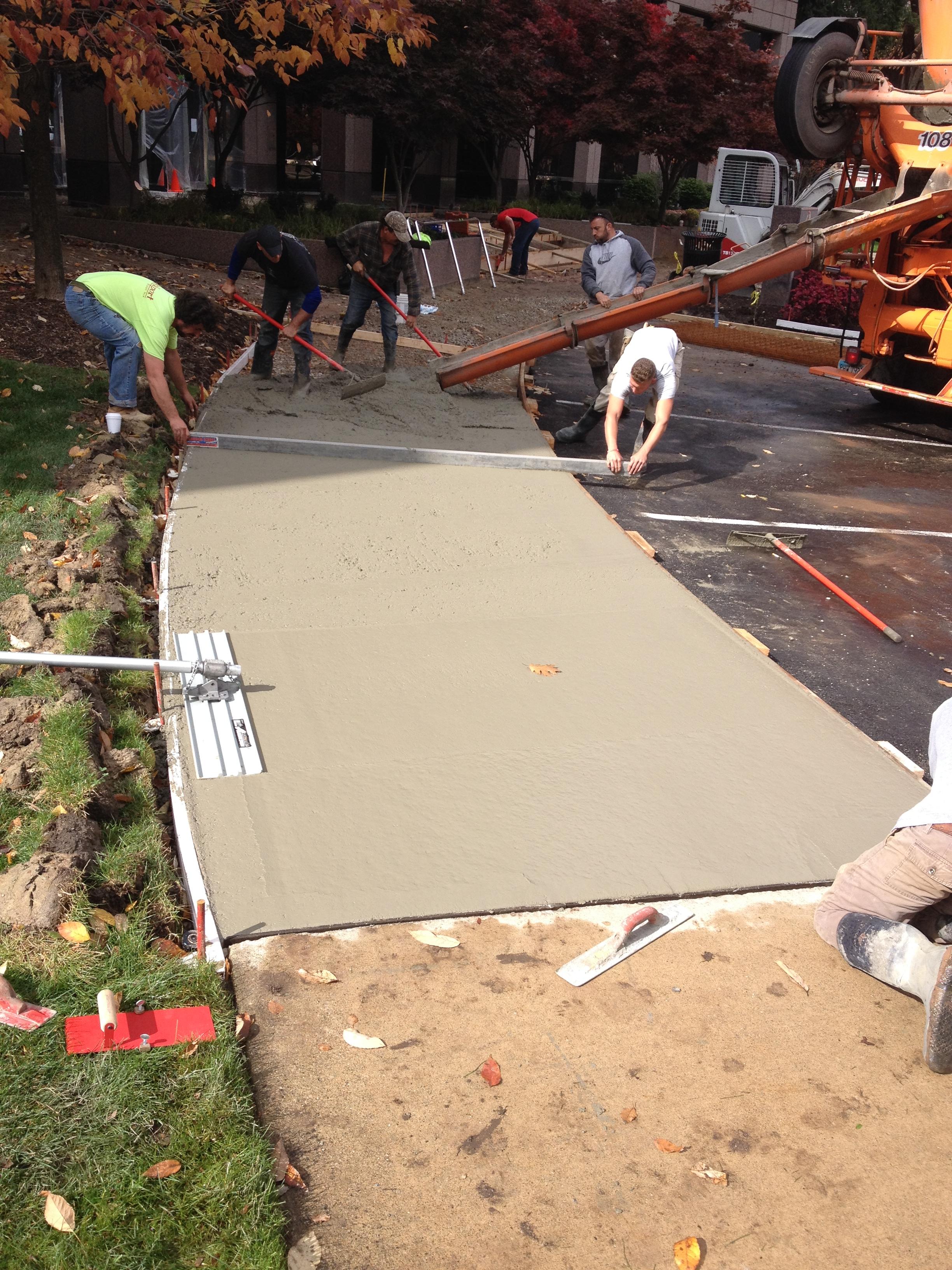 CBRE Stamped Concrete