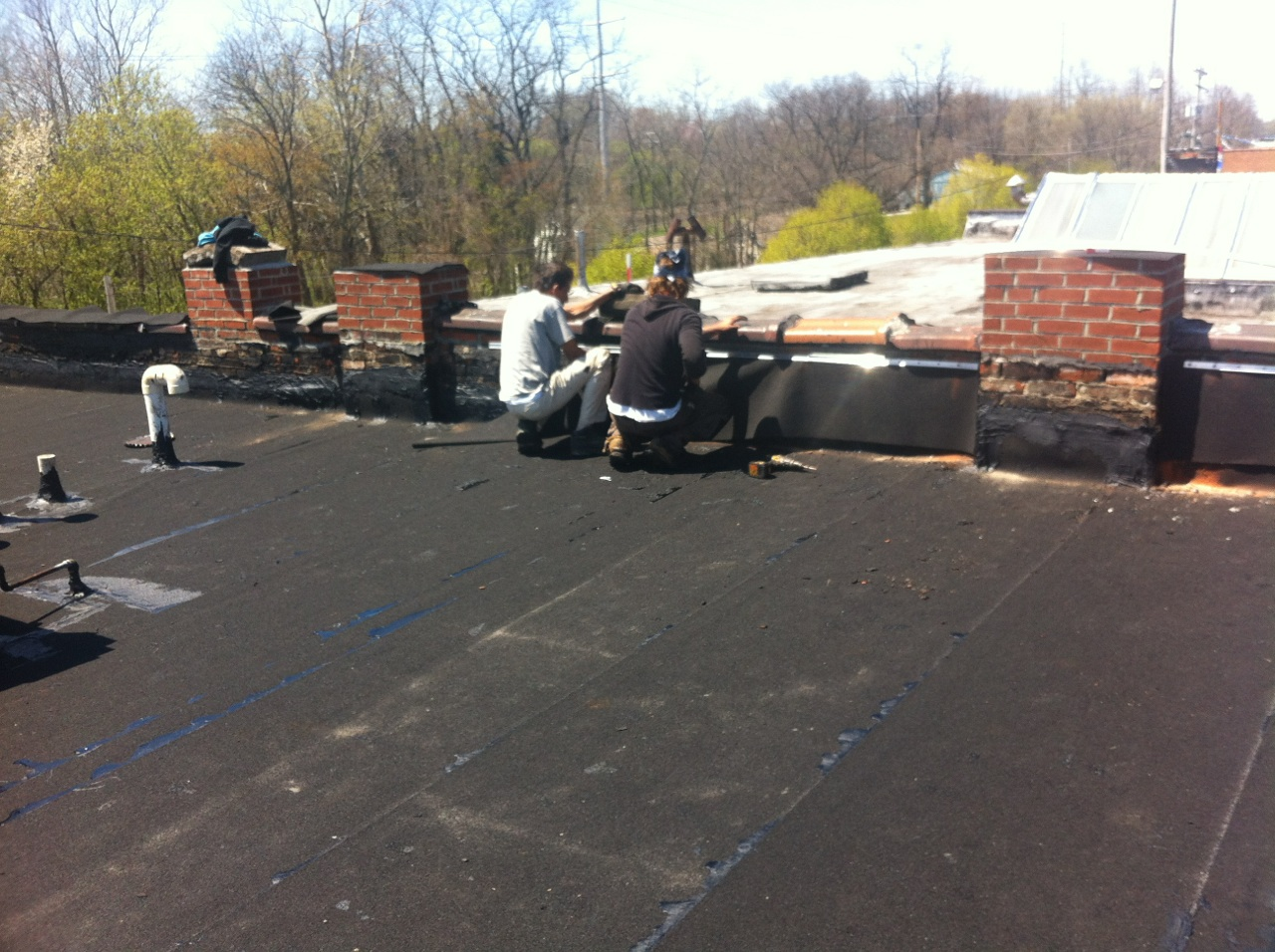 New modified rubber roof in Bedford-2.jpg