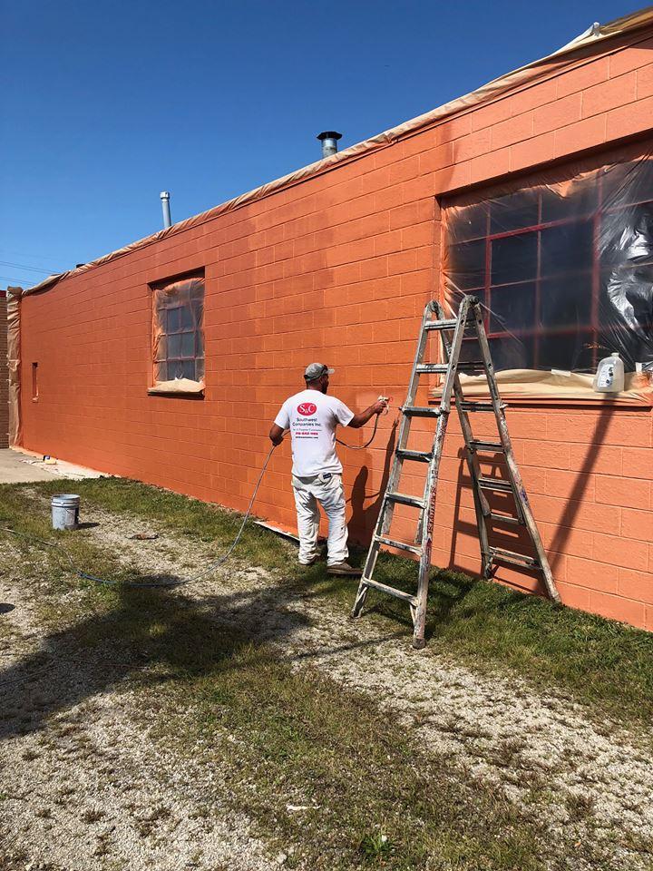 southwest companies exterior paint job