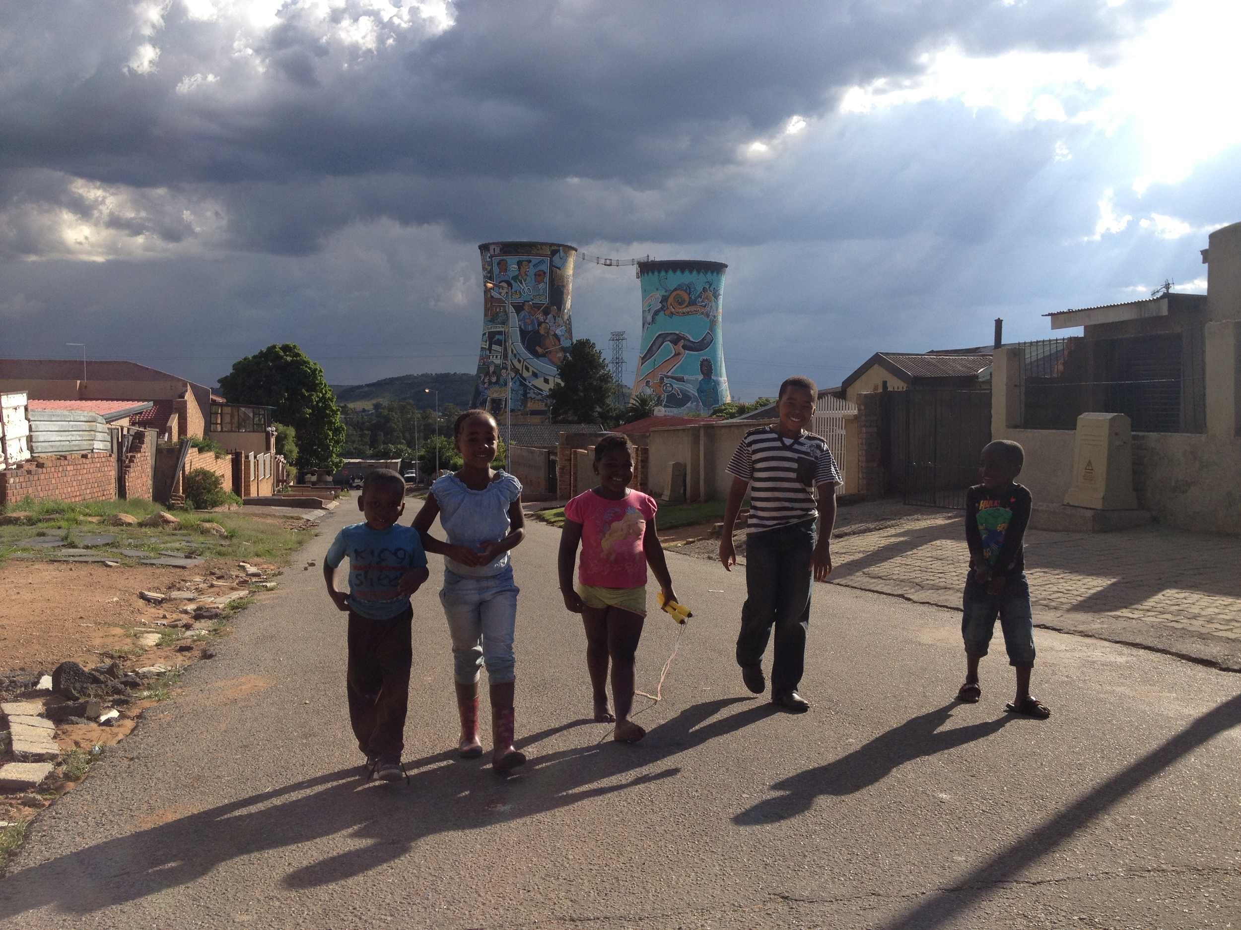 Shoot in Soweto - Children playing (November 2012)