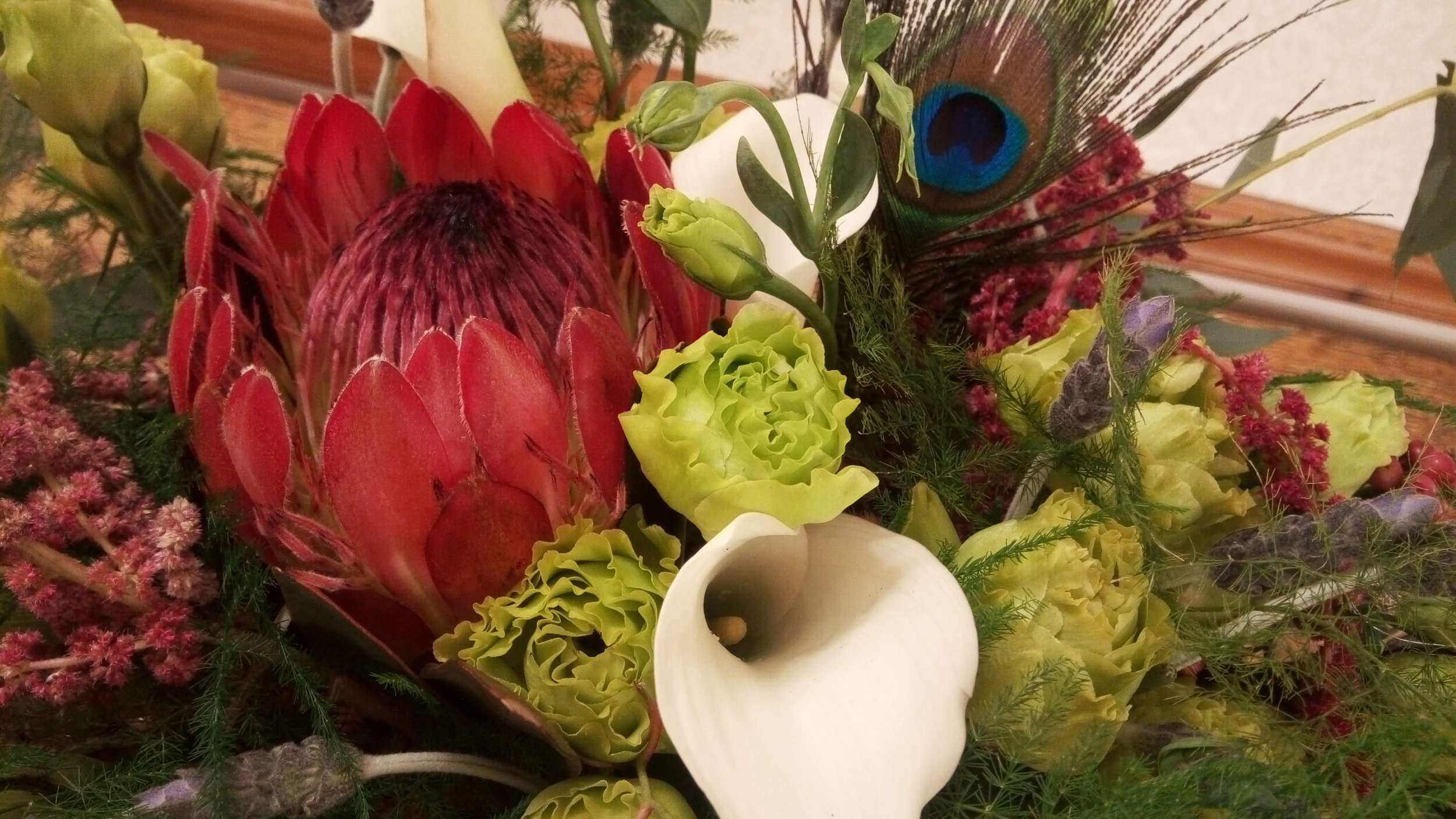 Wedding Floral Bouquets, Alta Sierra Country Club, Grass Valley, Nevada County, Gold Country