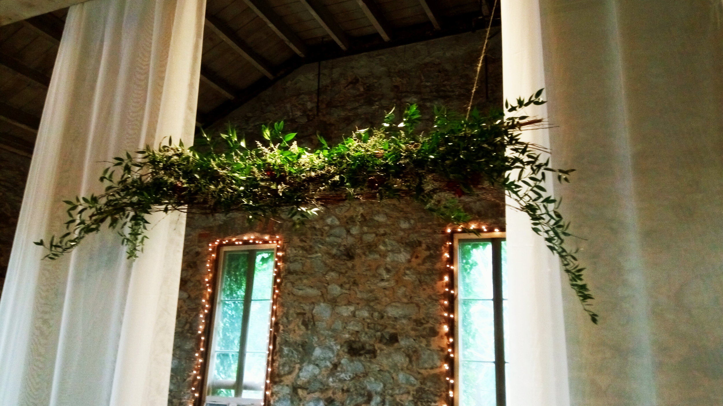 Wedding Floral Design Miners Foundry Nevada City, Nevada County, South Yuba