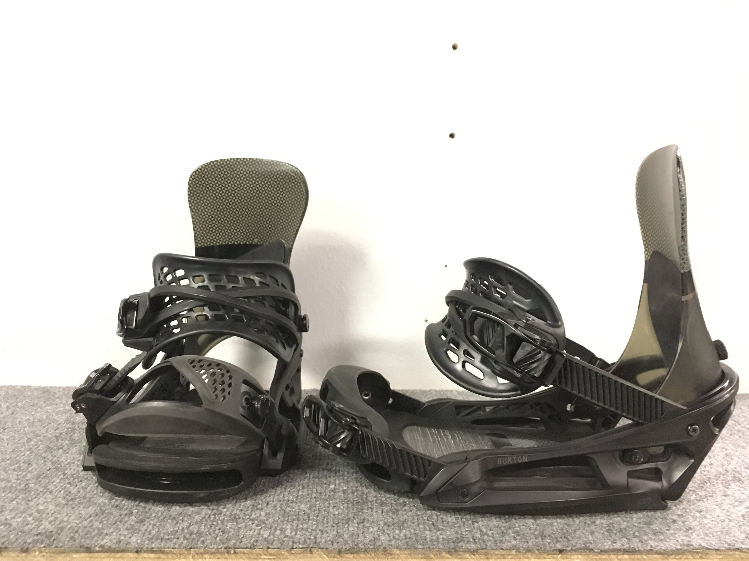 Mount it up! The Burton Diode EST is an extremely light and responsive binding that will have you bouncing through the trees and leaving a scar on the hill. Retail for the pair is listed at $440 but we can get you out the door for $159! The size is a medium.