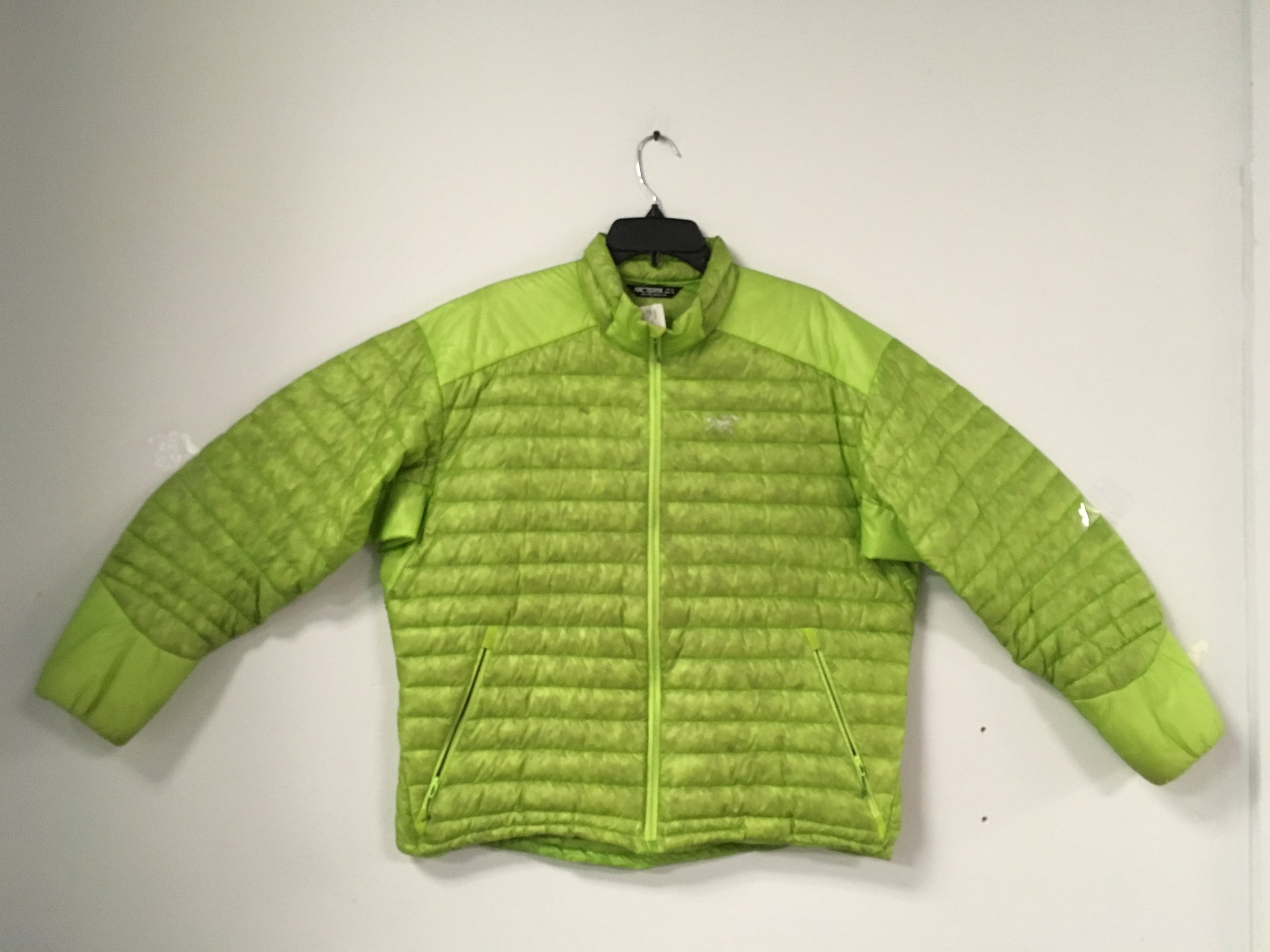 Step your mid-layer game up with the Cerium SL from Arcteryx! Offering the best ratio between warmth and weight by using 100% down insulation this jacket will keep you warm on the coldest of days! Retail for the Cerium is listed at $329 but we got you covered at $149. The size is a men's XL.