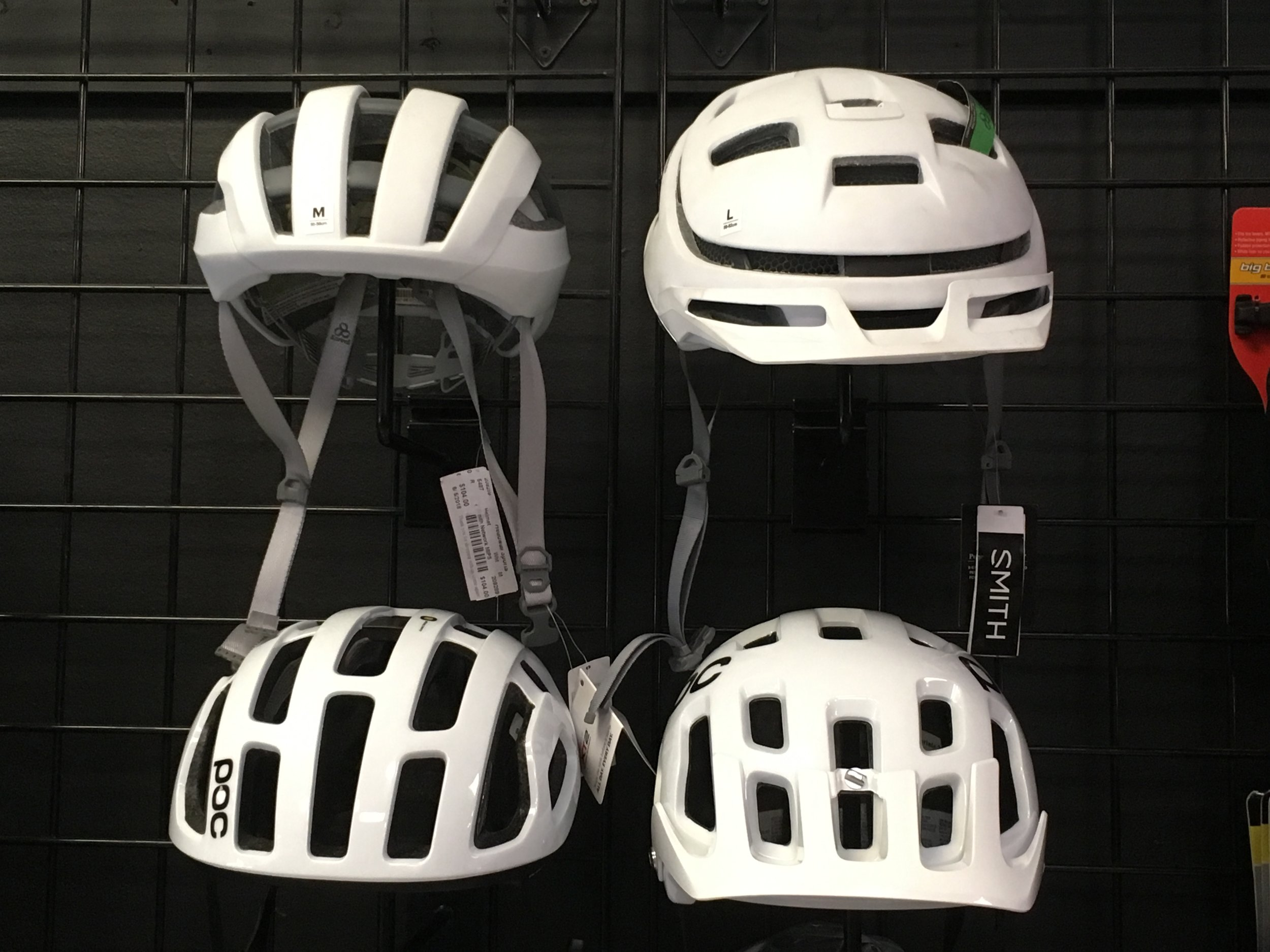40%-50% off on brand new POC and Smith bike helmets!