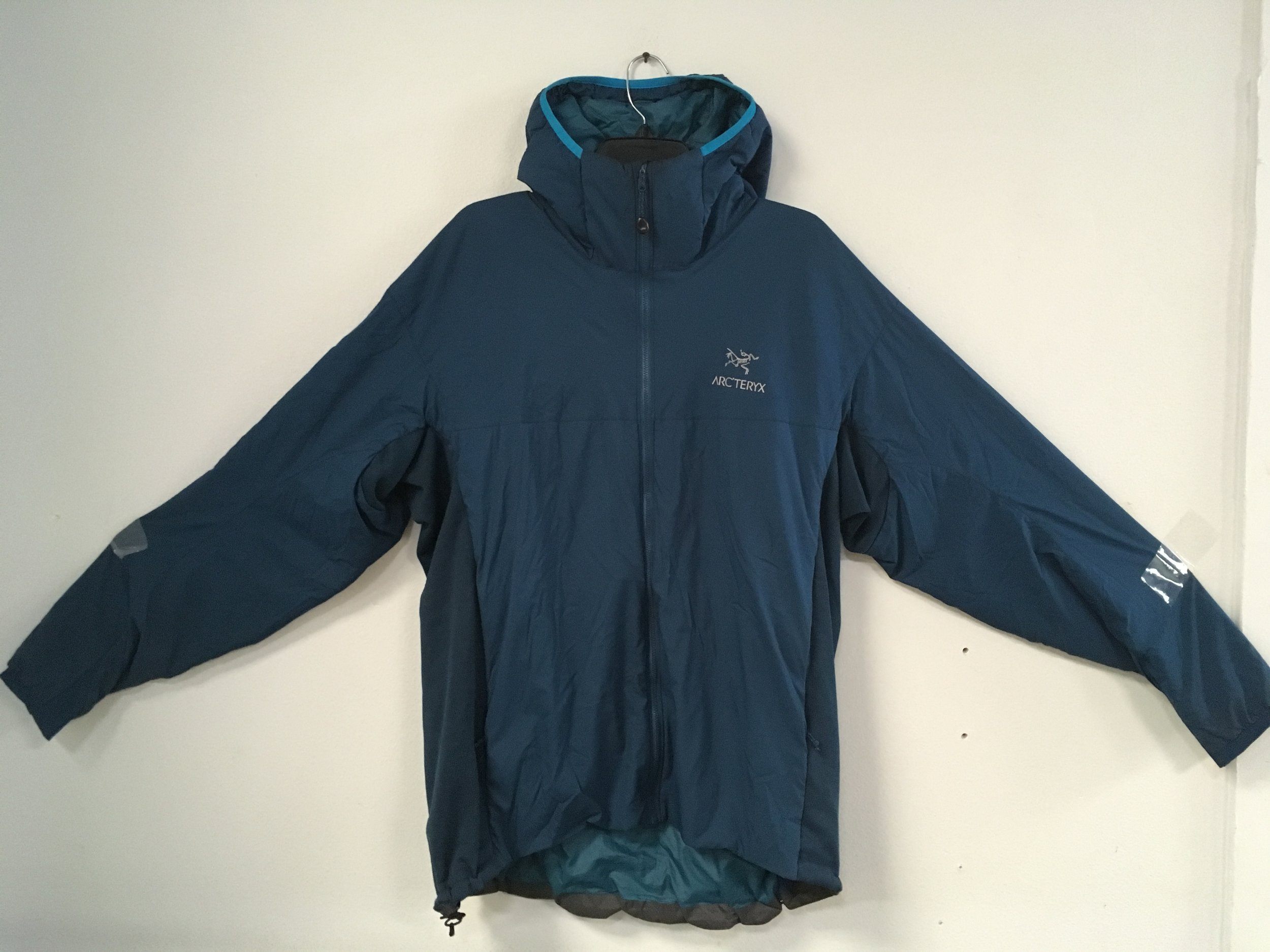 Get ready for the cold with Arcteryx's Atom LT jacket! The atom is a mid layer jacket with a wind and moisture resistant outer shell. Retail for the jacket is listed at $260 but we can keep you warm for $119! The size is a men's XL.