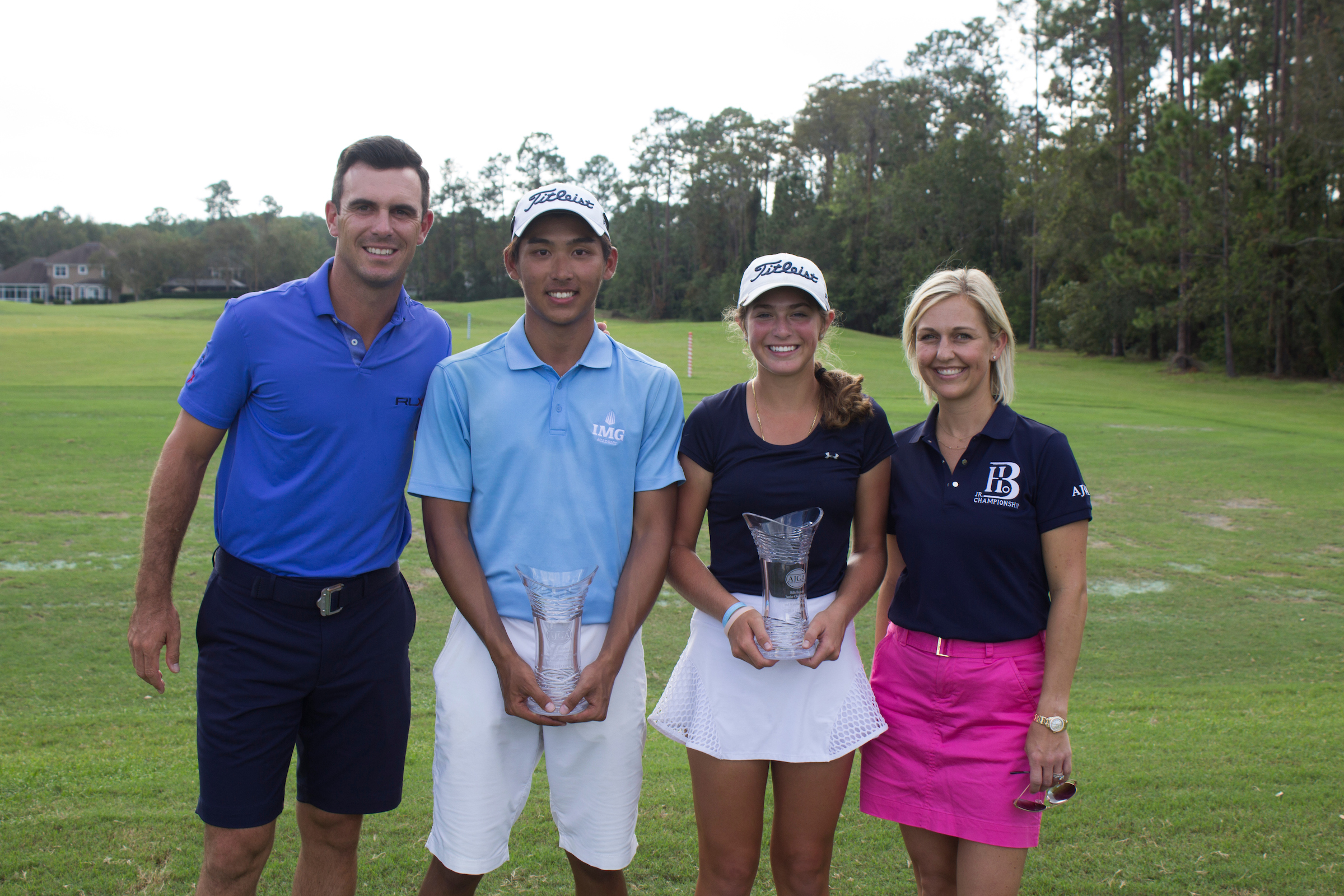 Teacharuangchit and Brittany and Billy Horschel, Rachel Kuehn - 2017 - Billy Horschel Junior_1.jpg