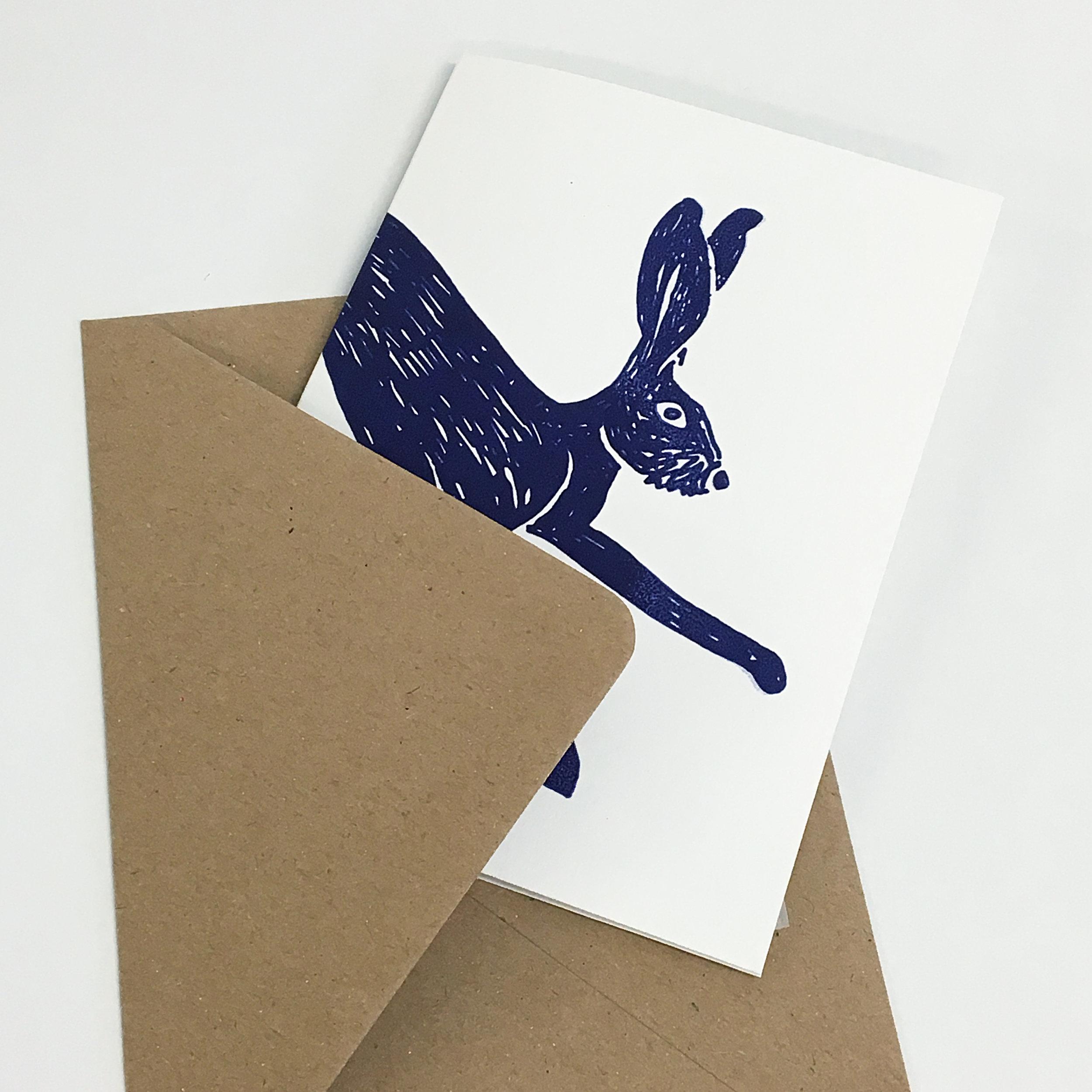 Jane Bain_Hare card_4_silkscreen print.jpg