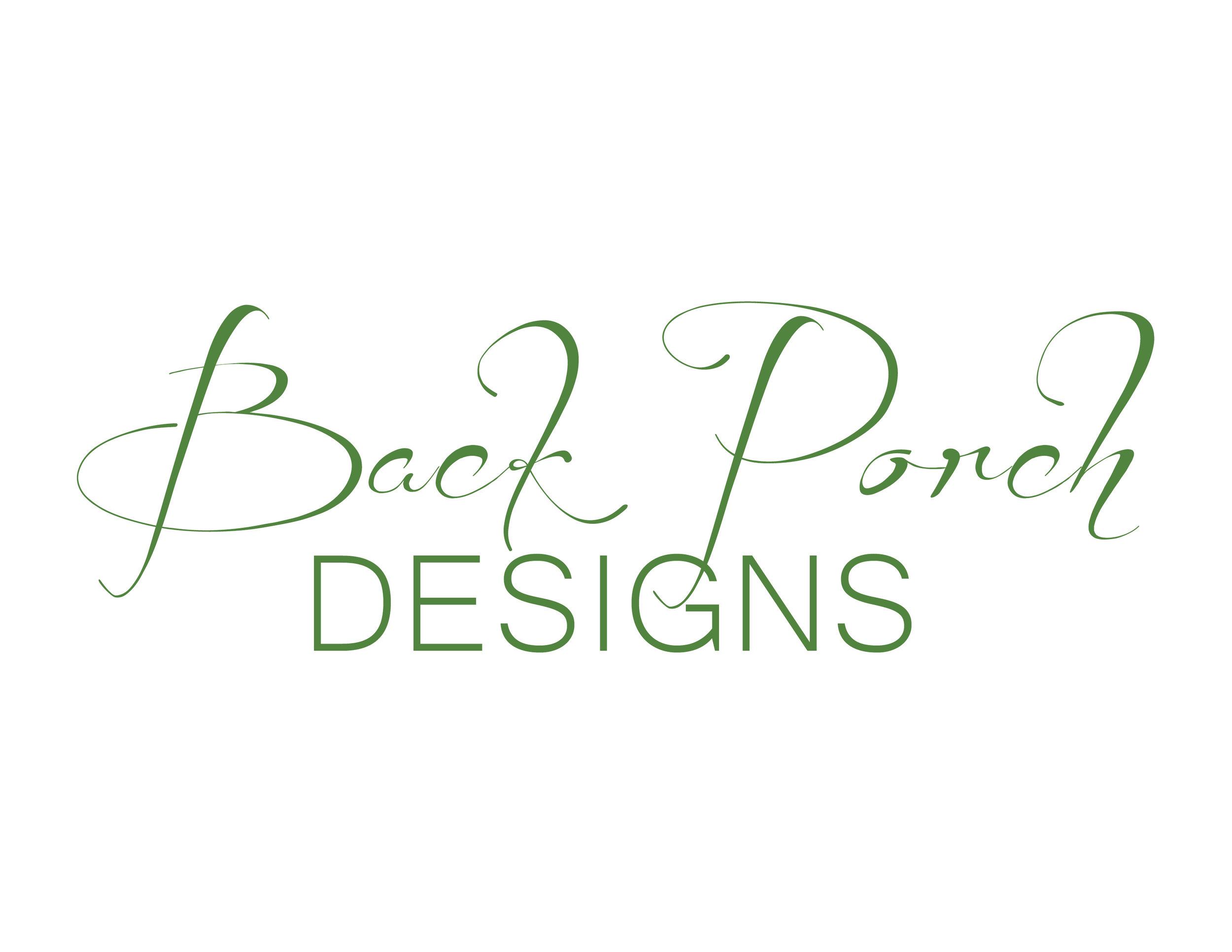 Back Porch Designs - Logo Design