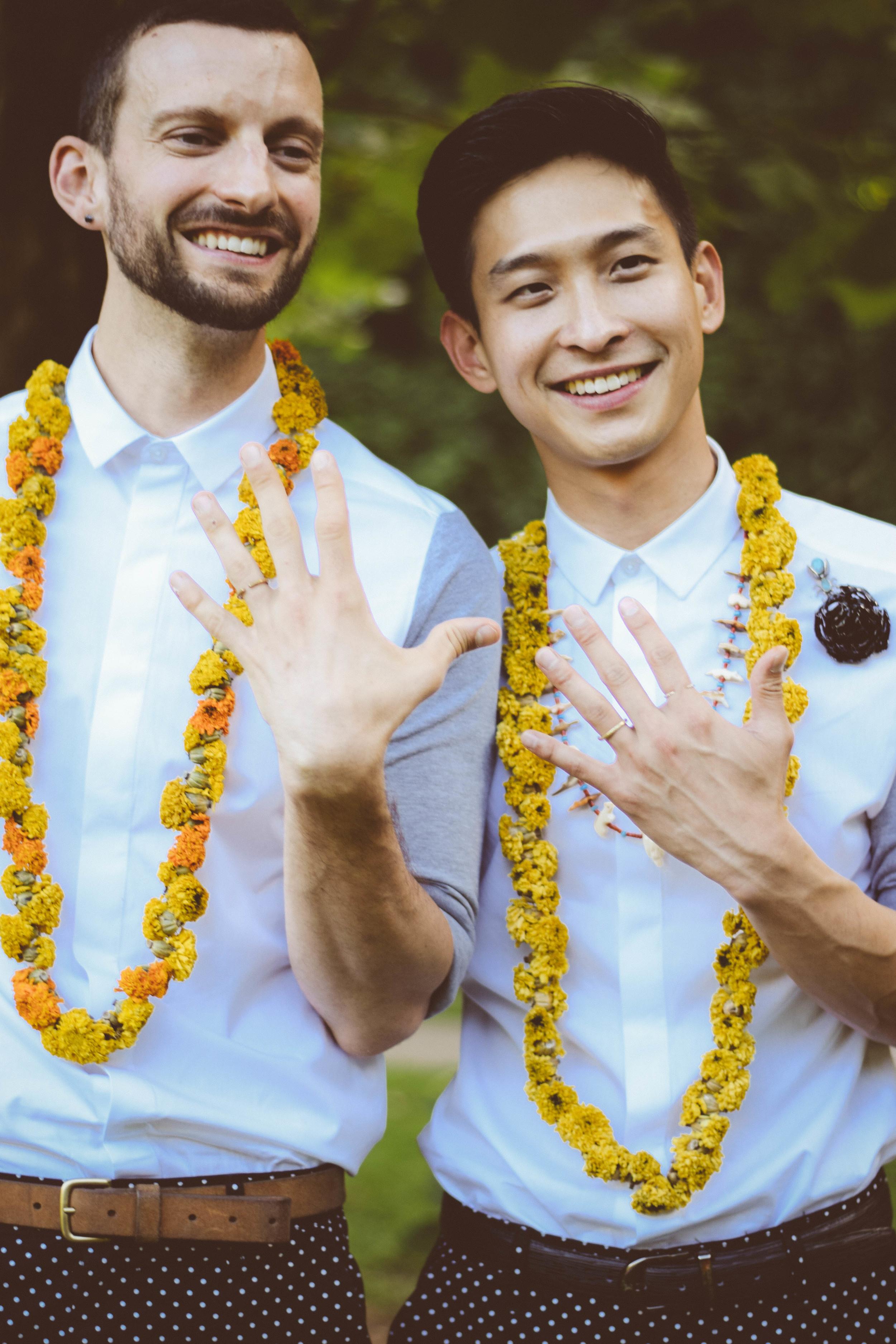 David + Mateo: Intimate Durham Wedding