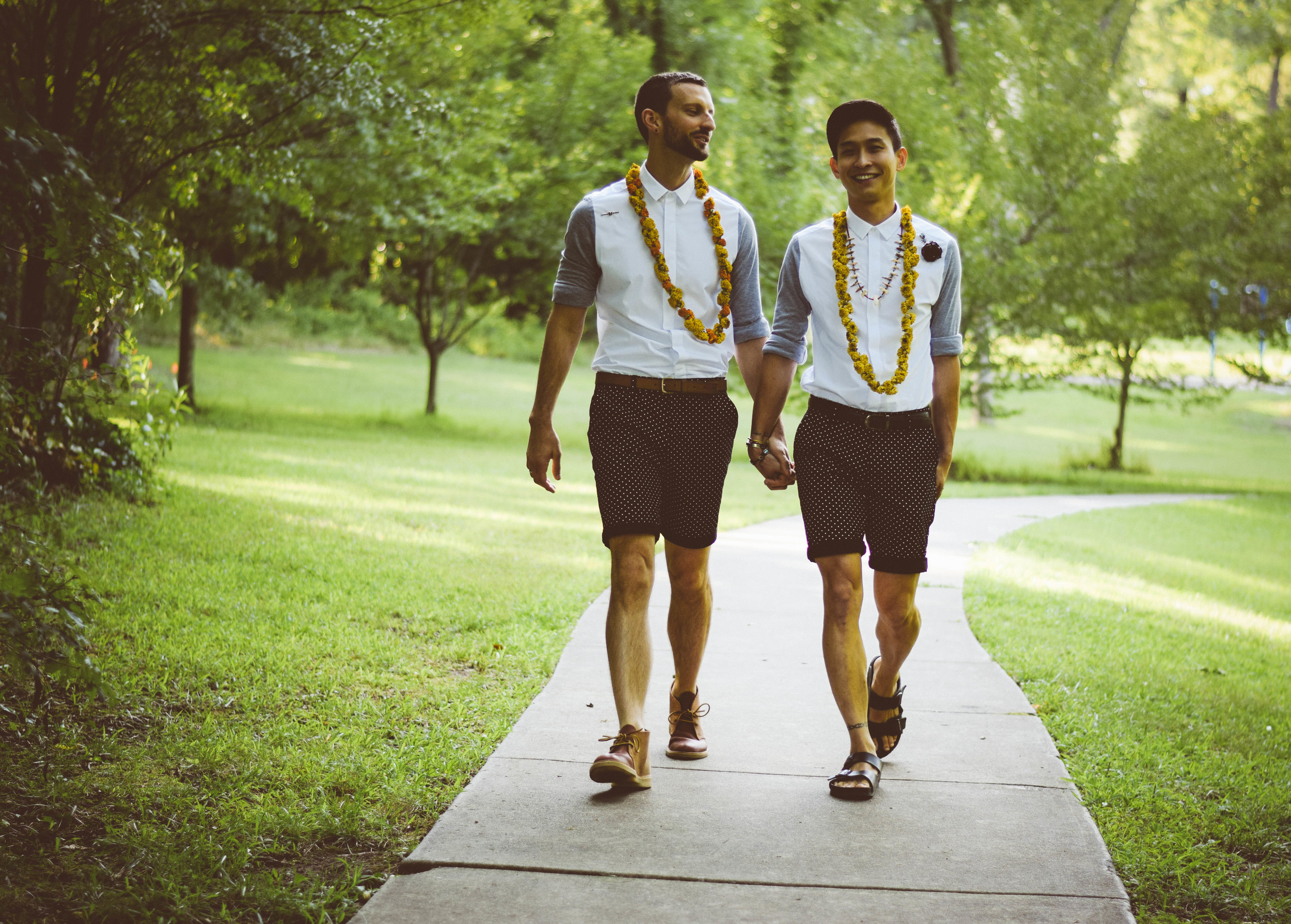 David + Mateo: Intimate Durham Wedding