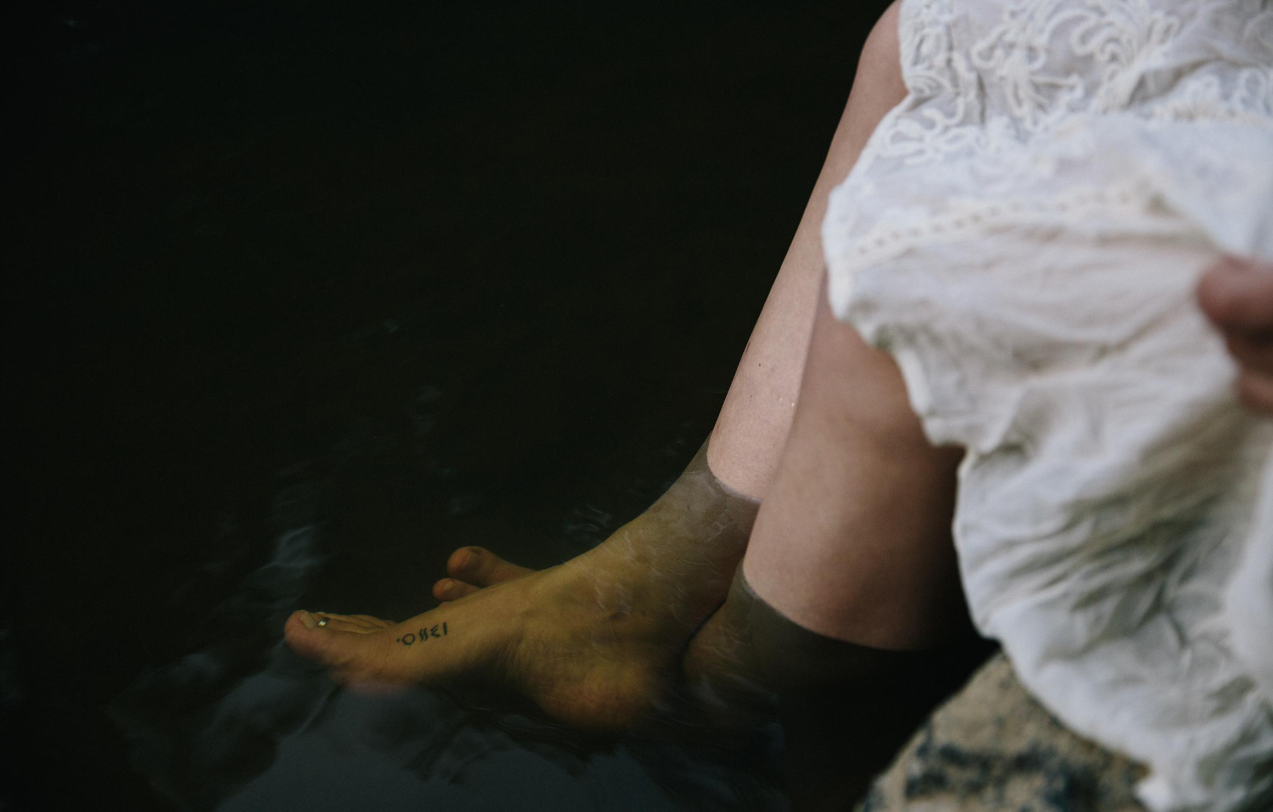 Katrina: maternity session | Eno River in Durham, NC | Merritt Chesson Photography