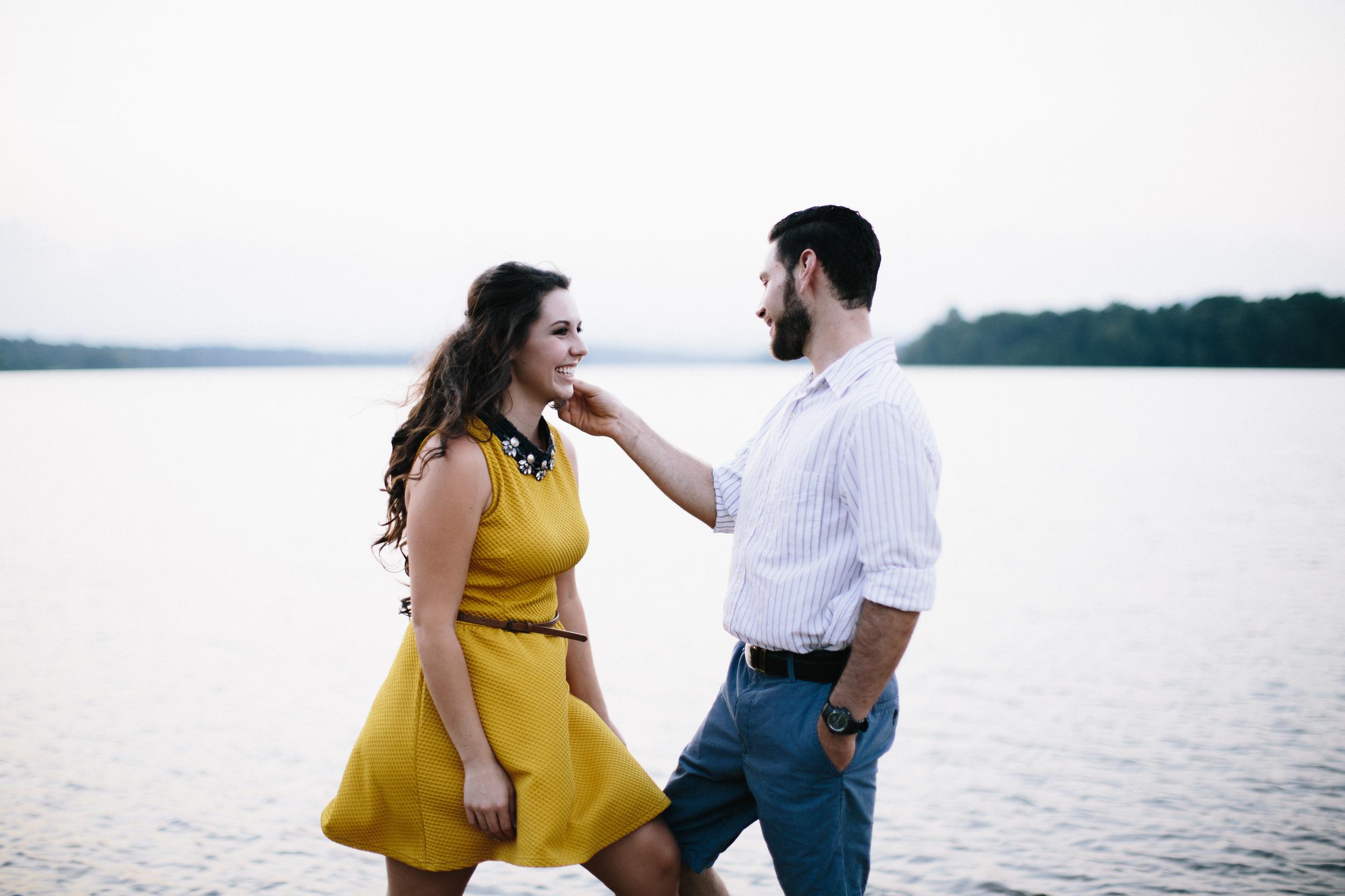 Kaitlin + Hercules: engagement session | Lake Robinson, SC | Merritt Chesson Photography