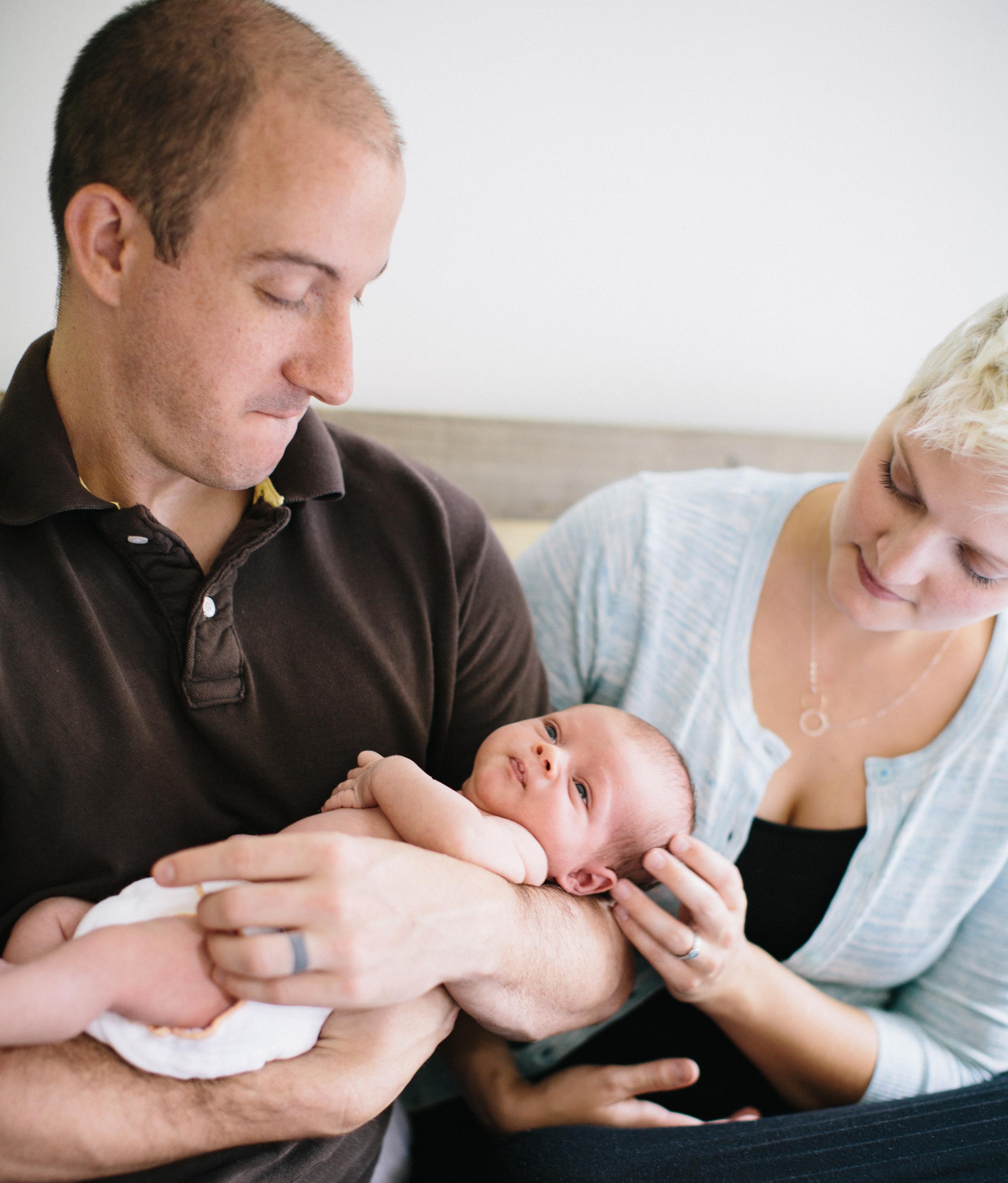 Linus: newborn session | Durham, NC | Merritt Chesson Photography