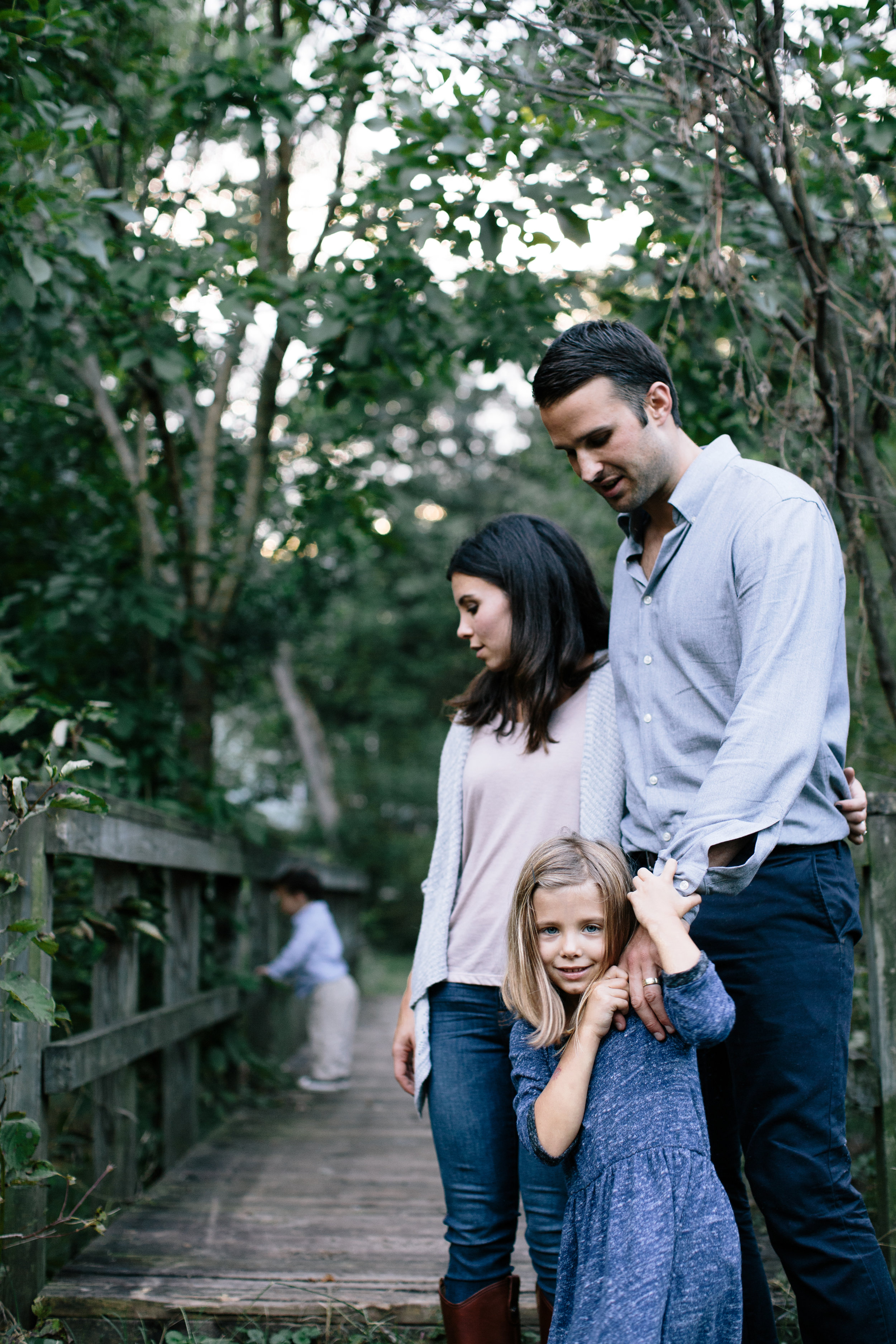 The Joneses in Durham's Forest Hills Park | Durham, NC | family photographer, portrait session | Merritt Chesson Photography