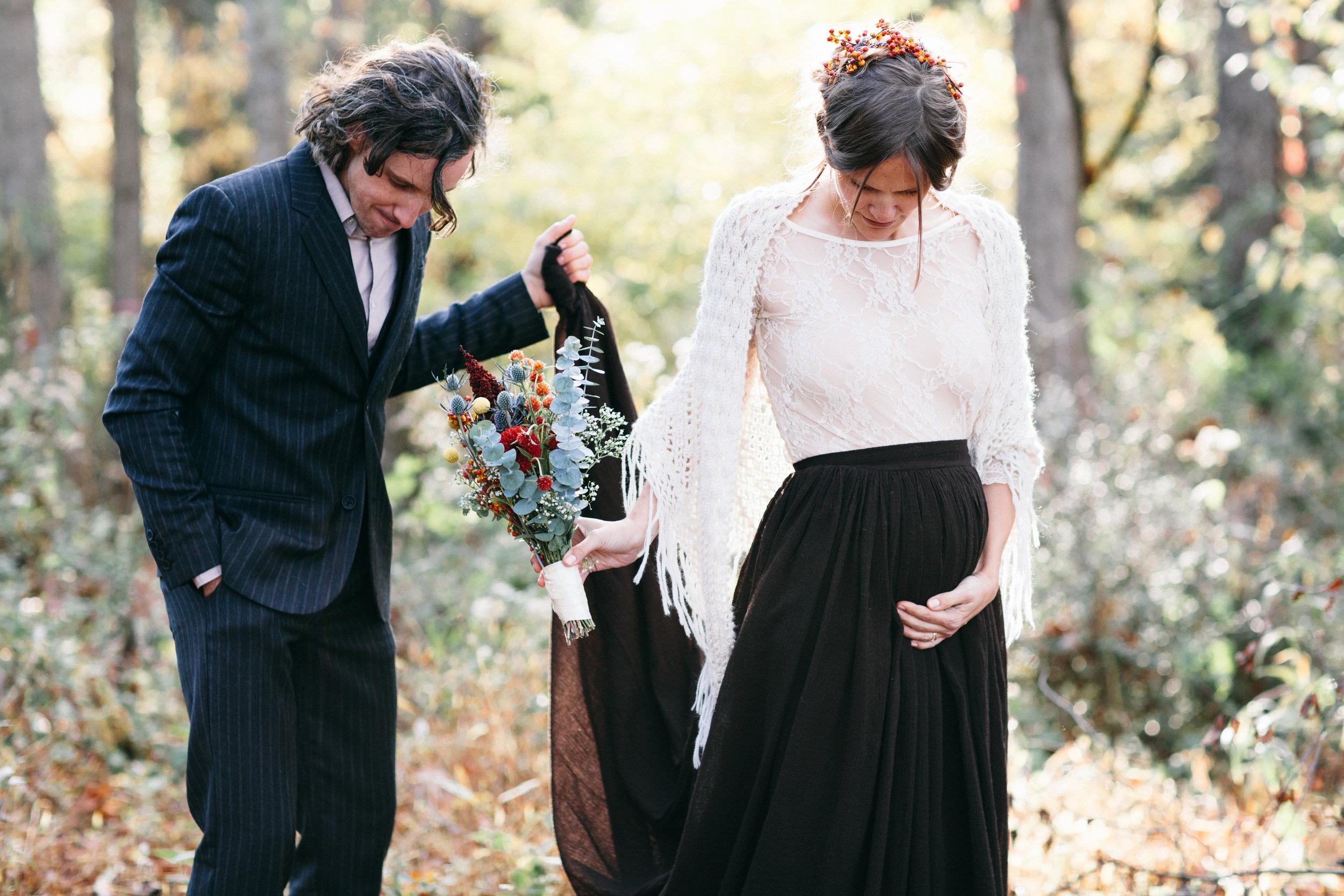 Sarah + Ben: Intimate DIY Mountain Wedding in Elk Creek, Virginia | wedding photographer | Merritt Chesson Photography