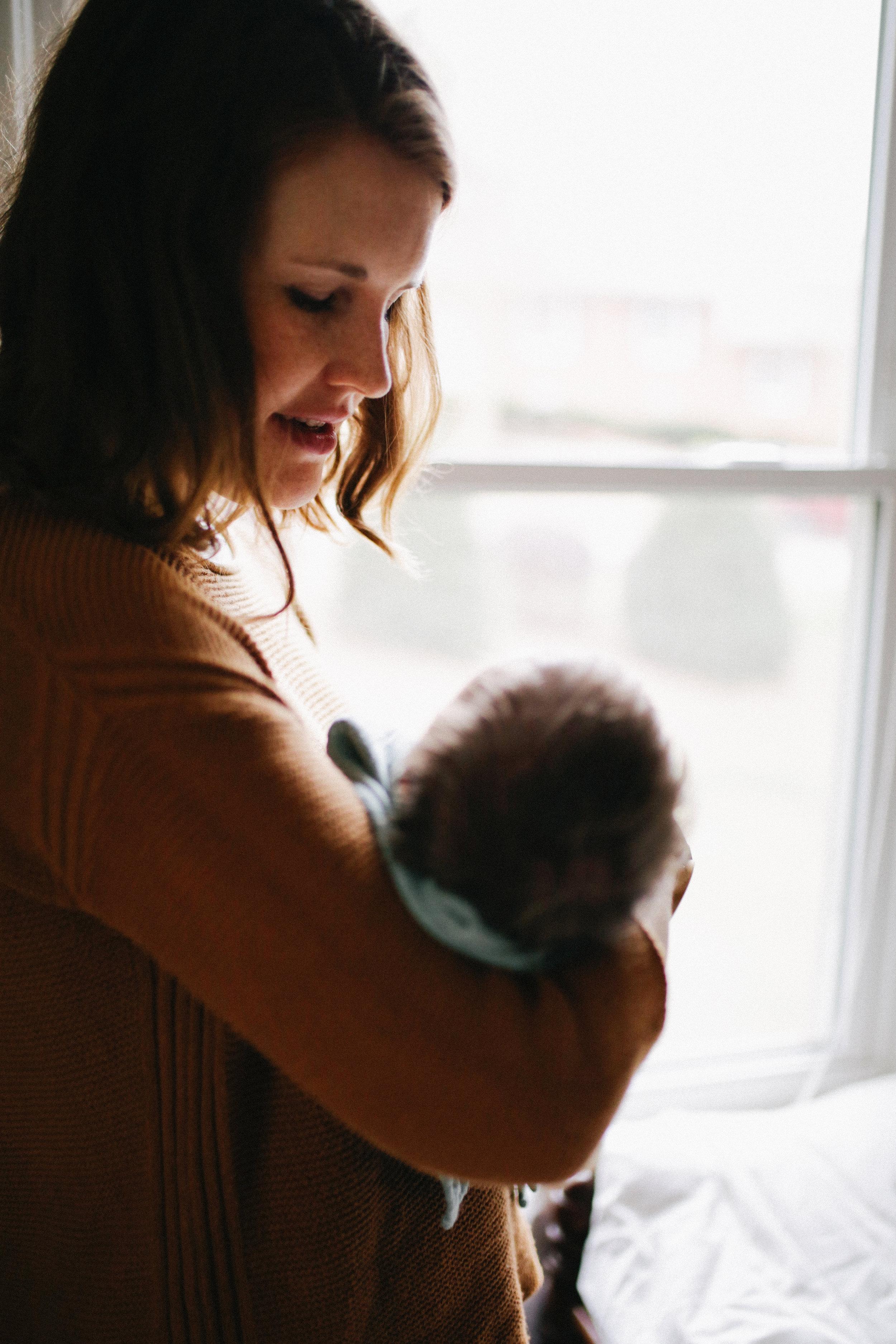 Early Days with Everett | Raleigh, NC | newborn photographer | Merritt Chesson Photography