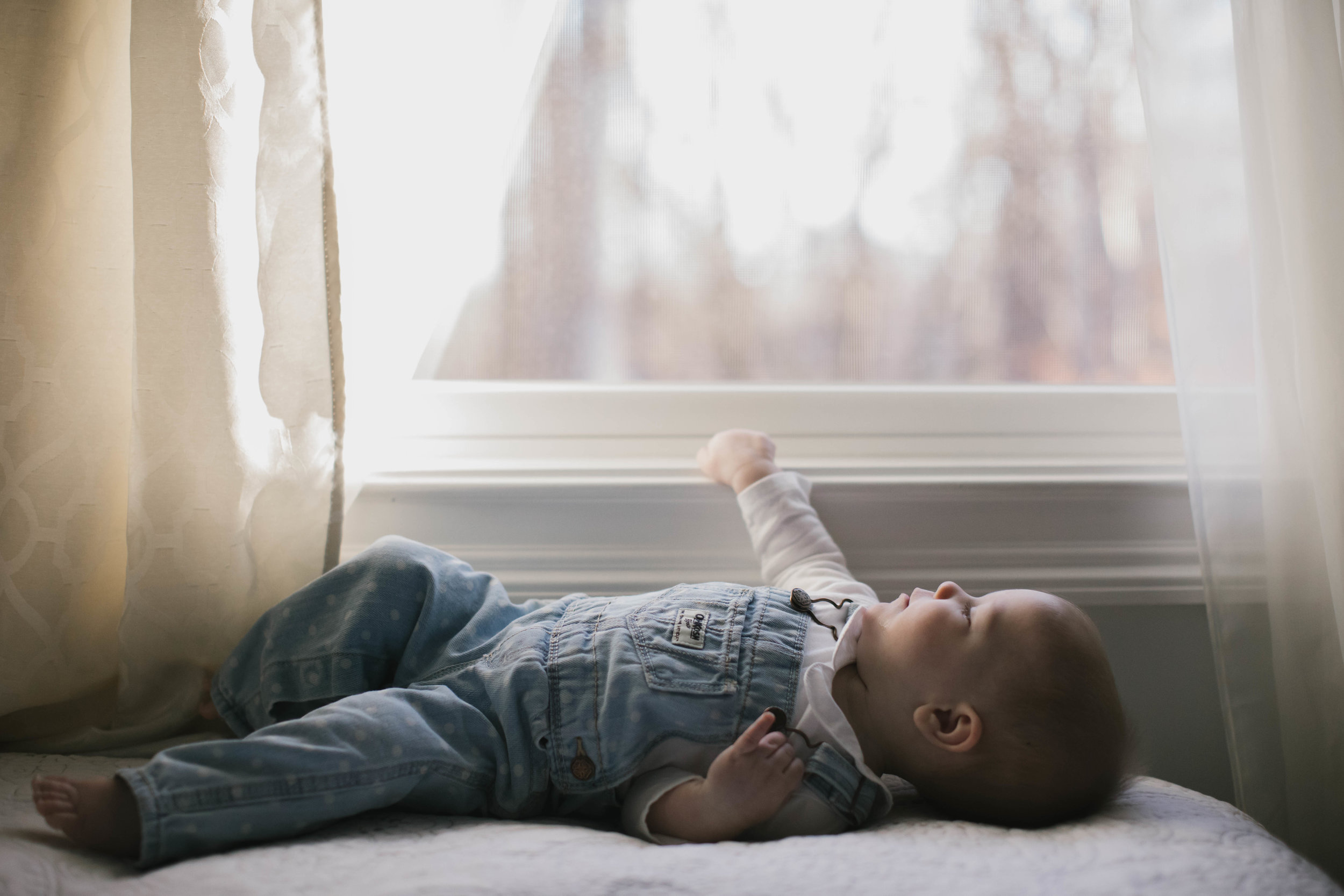 Lucy at 7 months | baby photographer | Durham, NC photographer | Merritt Chesson
