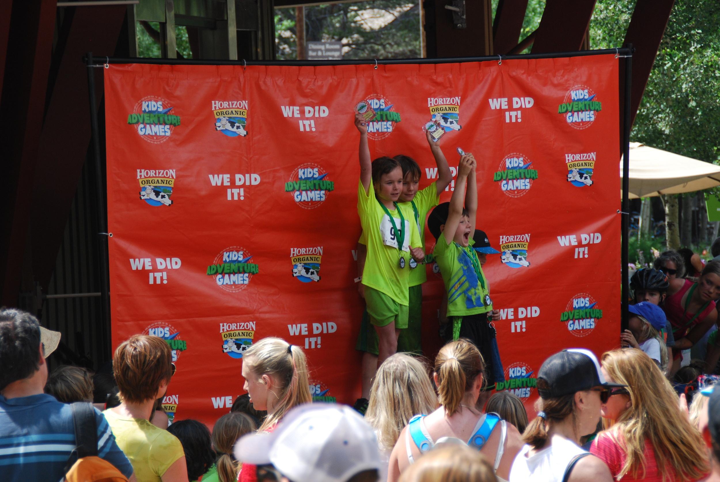 Team Tahoe Twins on the podium!