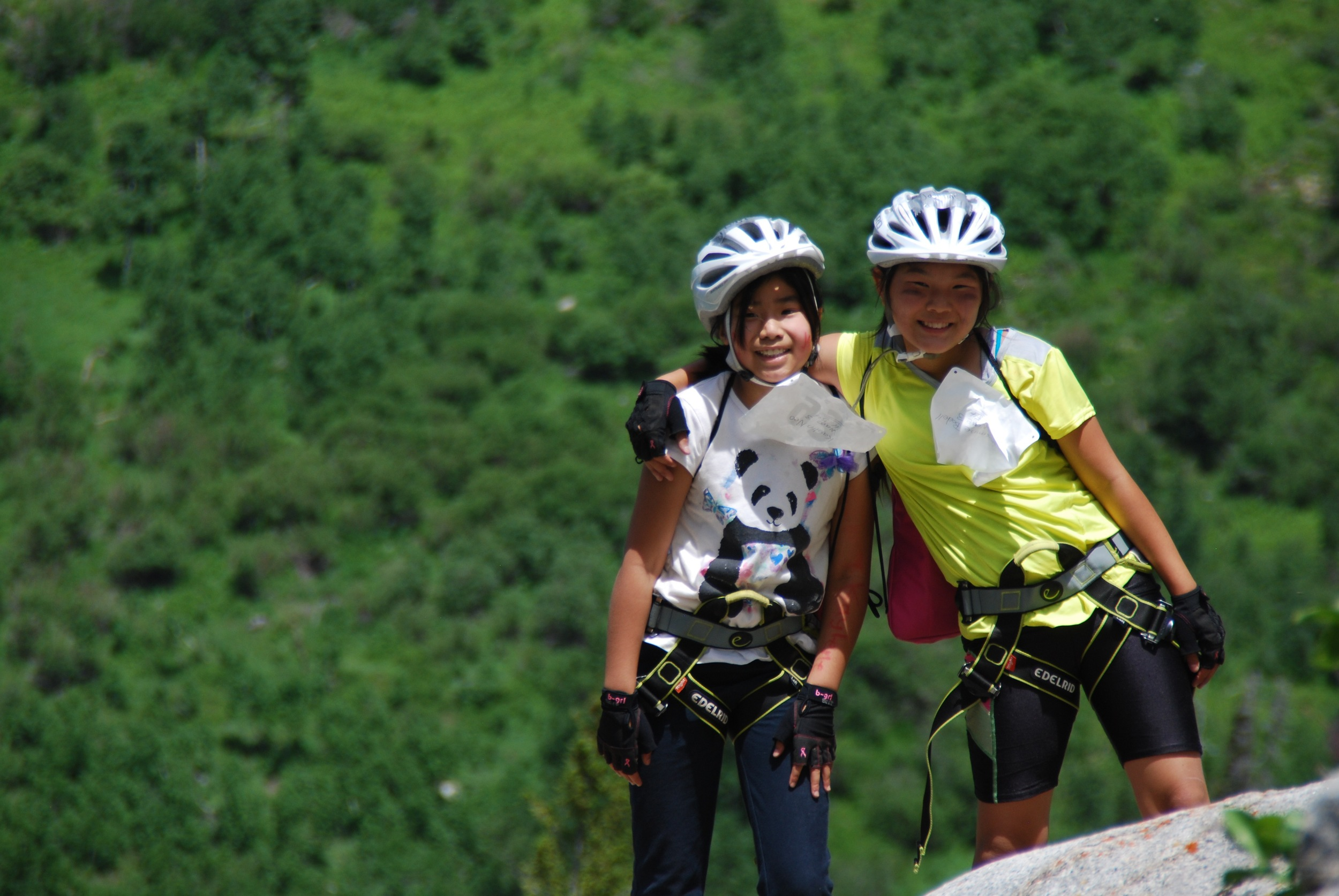 These two BGC Provo club members had a great time competing in the Kids Adventure Games!
