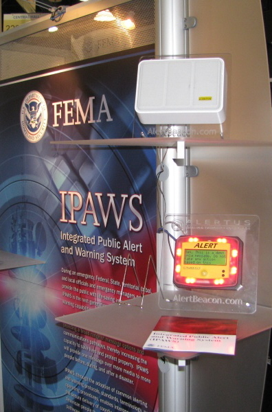 In 2009, FEMA contracted with Alertus through Northrop Grumman to study Alertus' radio subcarrier systems technology for usefulness in the nation's new Integrated Public Alert Warning System (IPAWS)