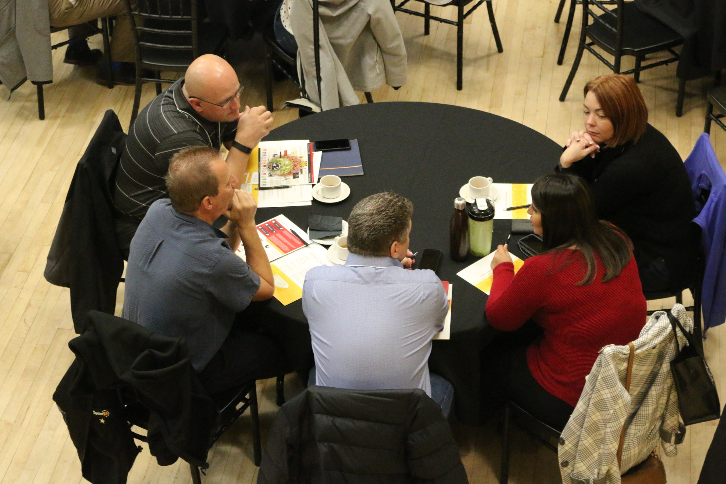Attendees had the opportunity to engage and ask questions as the panel discussion looked at what happens during a lockdown from both the facility and police point-of-views.
