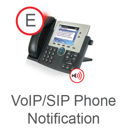 VoIP/SIP Phone Notification