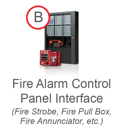 Fire Alarm Control Panel Interface
