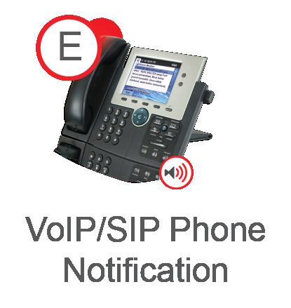 VoIP/SIP Phone Notification