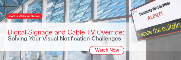 digital signage and cable tv override webinar replay