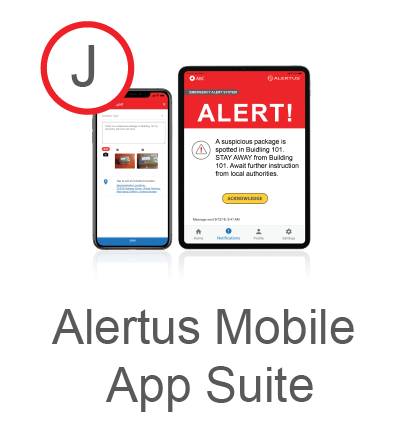 Alertus Mobile App Suite for schools