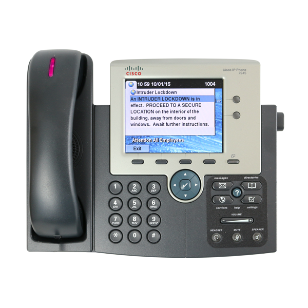 VoIP & IP Phone Notification — Alertus Technologies