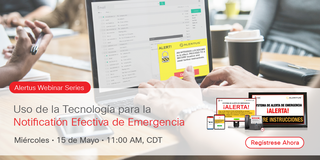 Notification de emergencia efectiva webinar