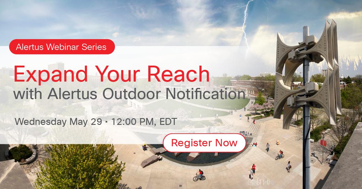 Alertus HPSA outdoor notification webinar