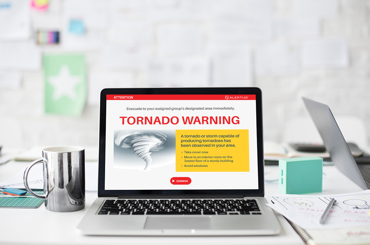 Desktop Notification Tornado