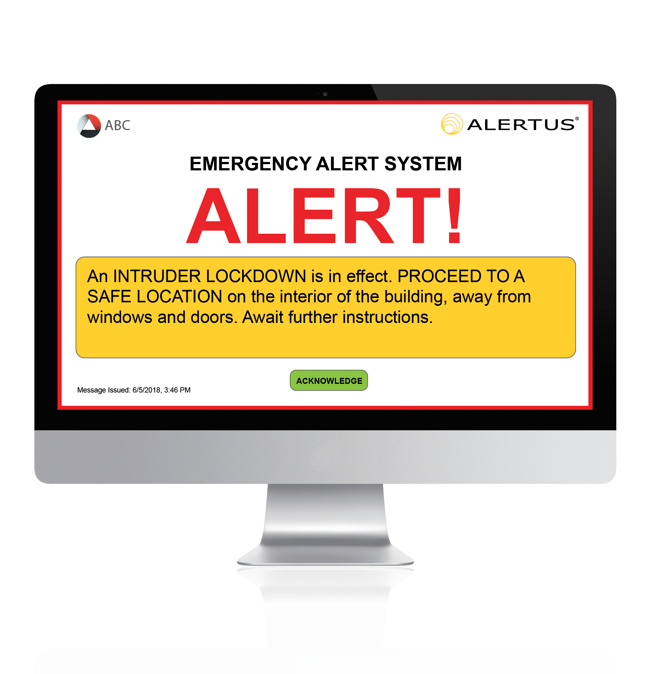 Alertus Desktop™ Notification