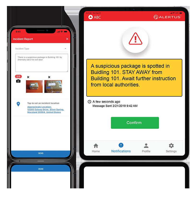Alertus Mobile Apps