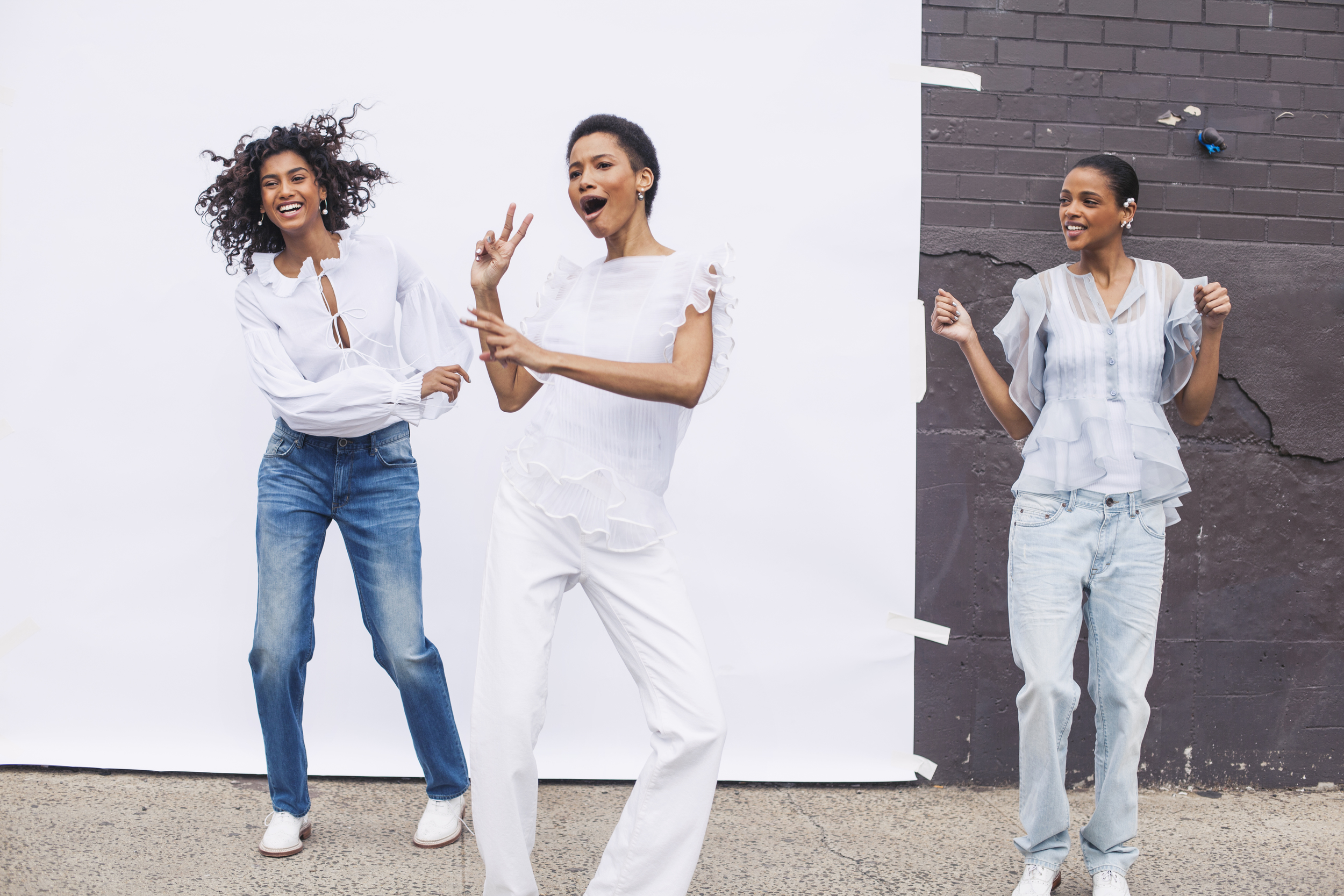 imaan hammam, lineisy montero, and aya jones