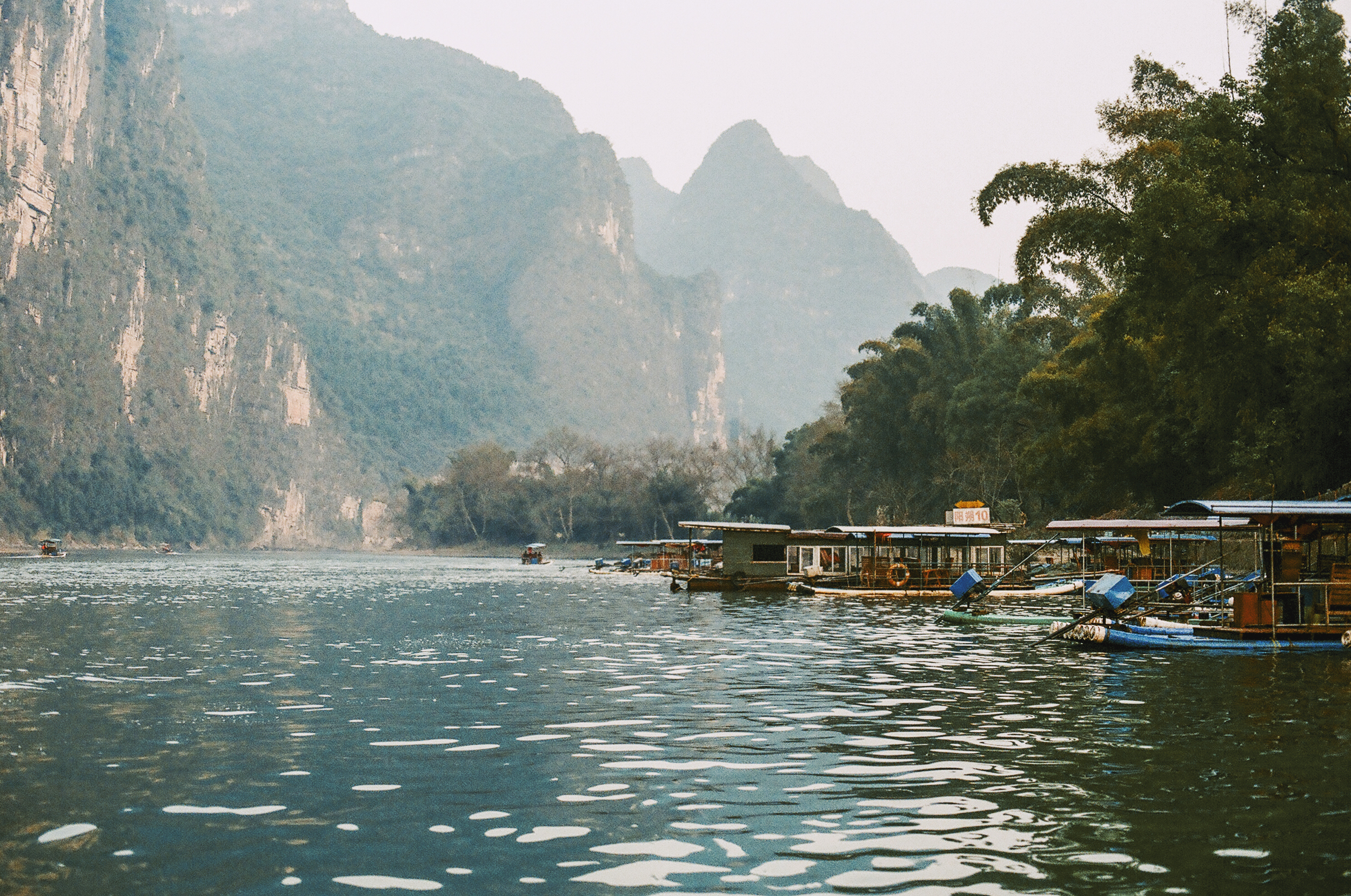 li river, china; 2016