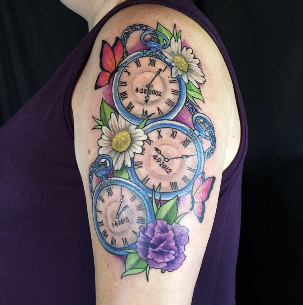 3 clocks n flowers.jpg