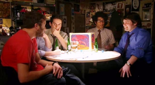 Picked this image because the  IT Crowd  is always good for a laugh. And you wouldn't dare Fade Away on them, would you?