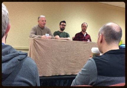This particular panel on publishing spiraled a little bit. But still interesting.