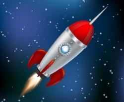 rocket-flying-through-space