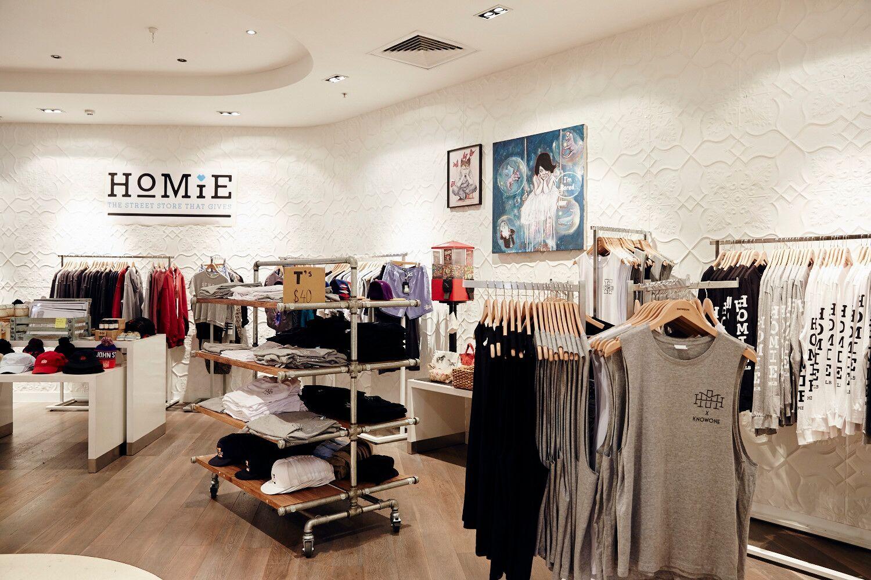 The HoMie store on Brunswick Street, Fitzroy