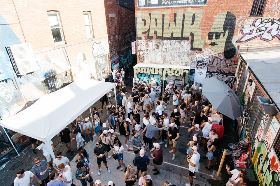 A HoMie block party to raise awareness of homelessness in Melbourne.