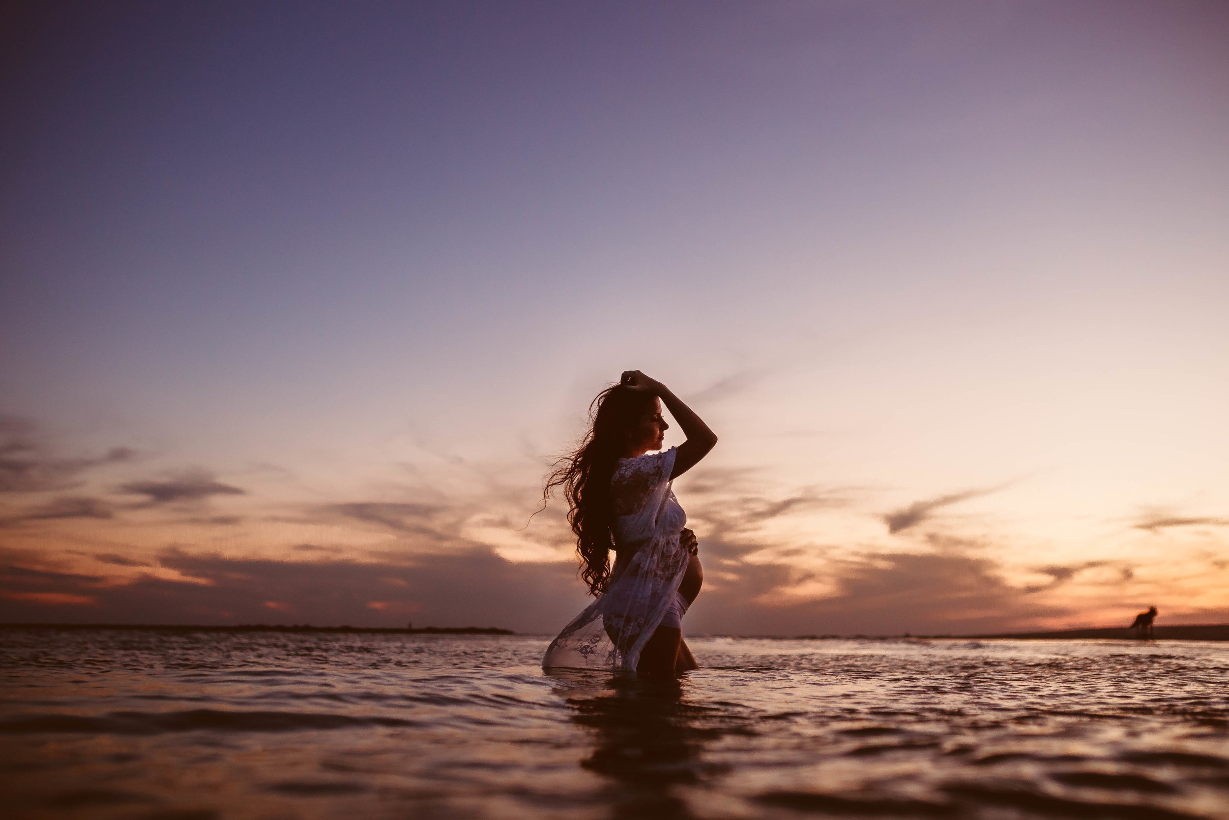 pregnancy photography, st pete beach