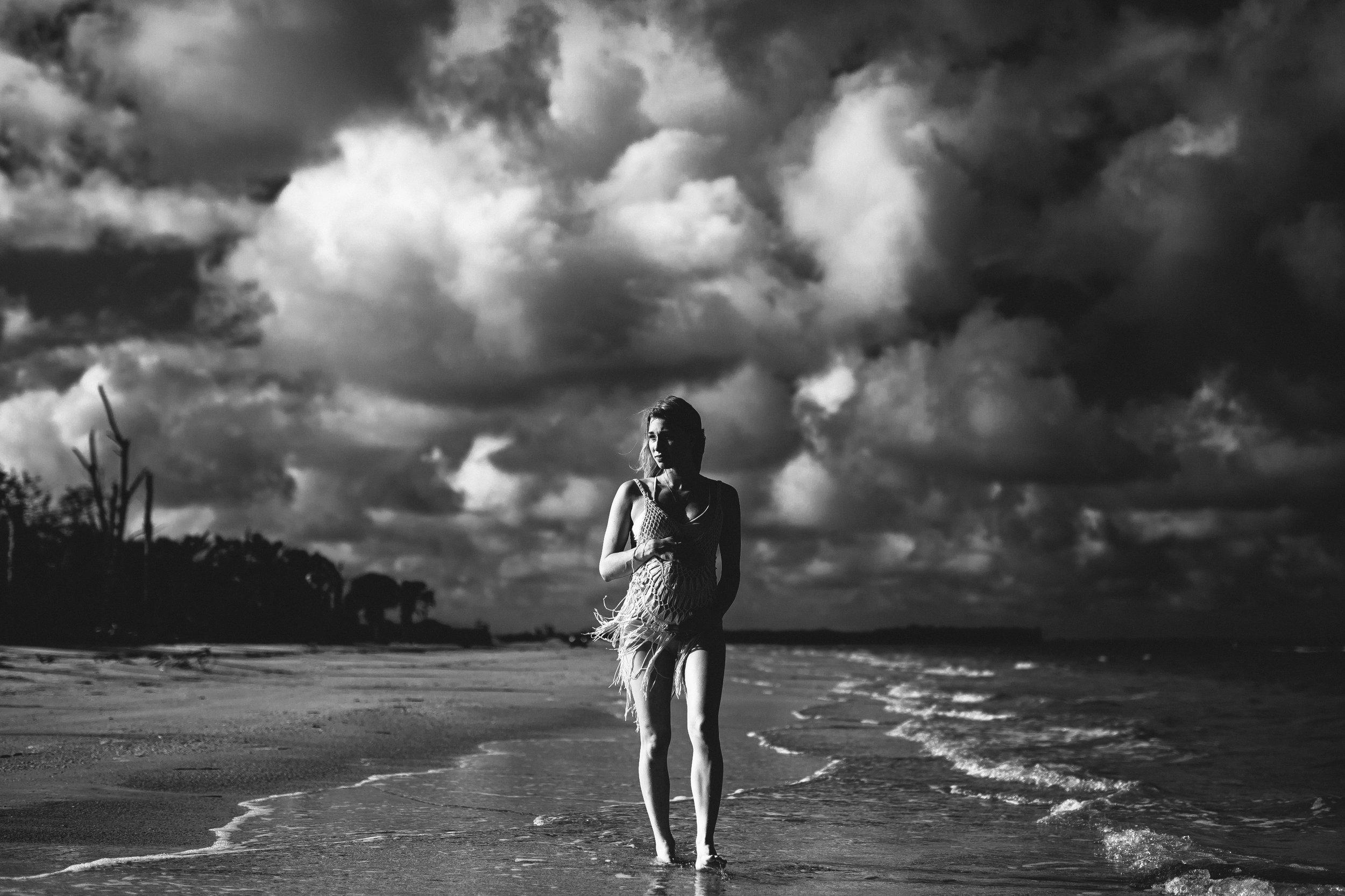 pregnancy portrait photography the beach, FL